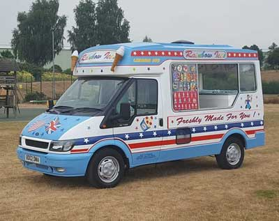 Rainbow Ices Vehicle